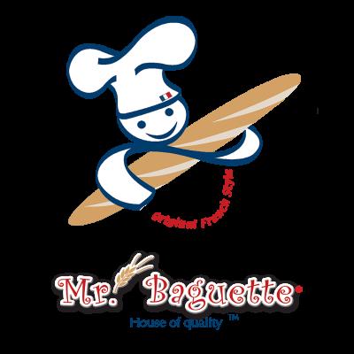 Mr. Baguette Logo (1080p Transparent)